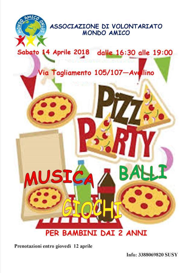 pizza party aprile 2018