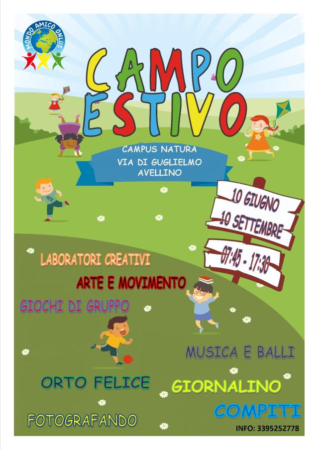 CAMPI ESTIVI 2019